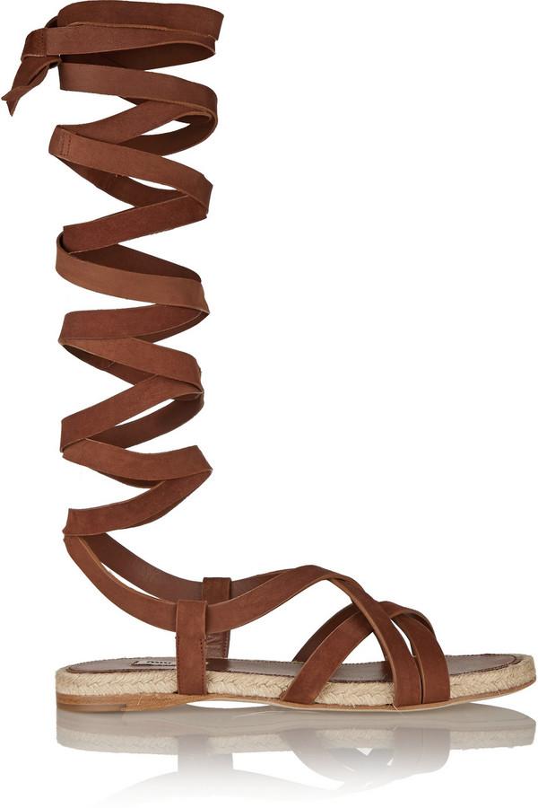 Miu Miu Suede espadrille sandals