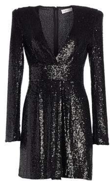 A.L.C. Mara Sequin Mini A-Line Dress