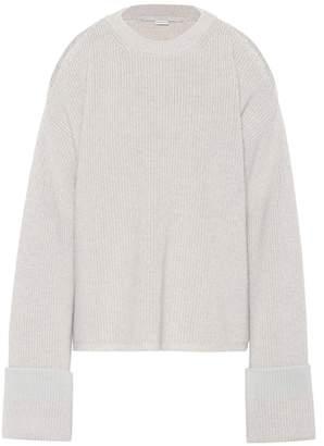 Stella McCartney Cold-shoulder wool sweater