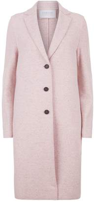 Harris Wharf London Cashmere Wool Longline Coat