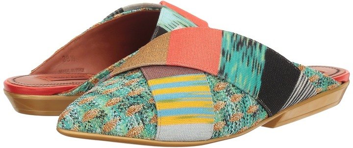 Missoni - Pointed Patchwork Mule Women's Shoes