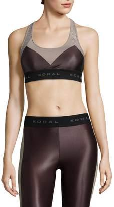 Koral Activewear Women's Emblem Sports Bra