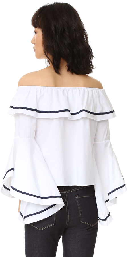 Style Mafia Blaze Off the Shoulder Top 3