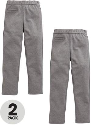 Very Girls 2 Pack Jersey School Trousers