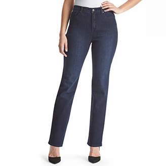 Gloria Vanderbilt Women's Plus Size Amanda Classic Tapered Jean,Short
