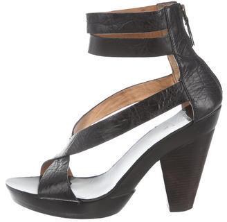 GivenchyGivenchy Leather Platform Sandals