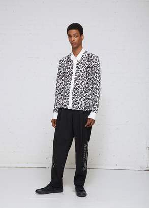 TAKAHIROMIYASHITA The Soloist Leopard Fringe Sleeve Shirt