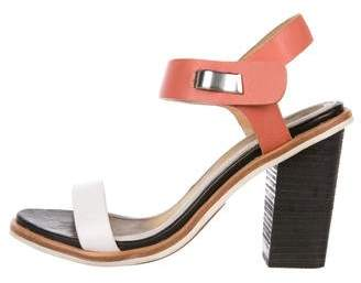 Rag & Bone Leather Block Heel Sandals