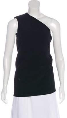 Cushnie et Ochs One-Shoulder Sleeveless Top