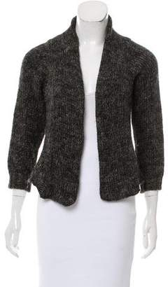 Hache Long Sleeve Open Front Cardigan