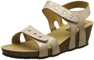 Rondinaud Women's Turia Open Toe Sandals, (Beige 32)