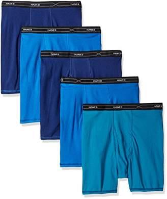 Hanes Men's 5-Pack X-Temp Comfort Cool Boxer Briefs