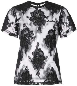 Fleur Du Mal レースTシャツ
