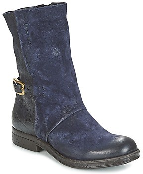 Air Step A.S.98 VERTI women's Mid Boots in Blue