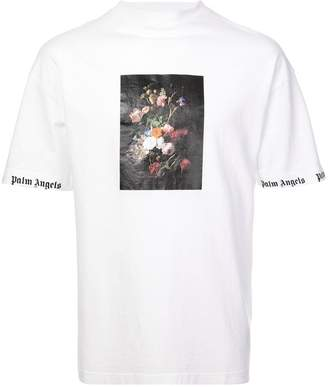 Palm Angels floral print T-shirt