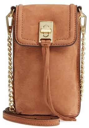Rebecca Minkoff Darren Leather Phone Crossbody Bag