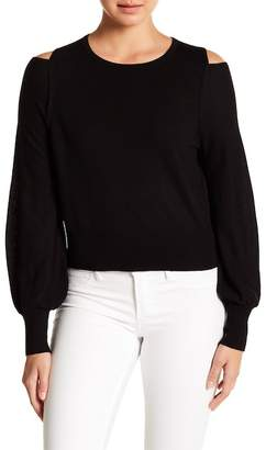 Vince Cold Shoulder Merino Wool Sweater