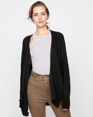 Express Black Shaker Knit Cover-Up