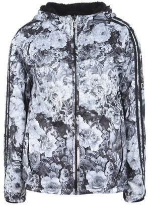 Deha PRINTED HOODED REVERSIBLE WINDBREAKER Jacket