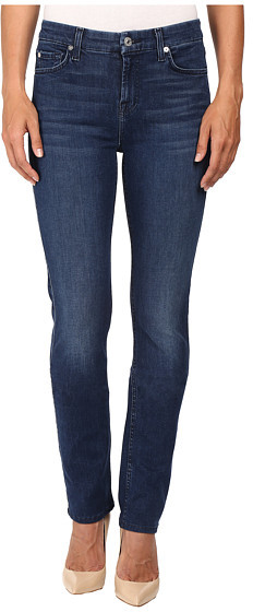 7 For All Mankind7 For All Mankind Kimmie Straight in Slim Illusion Luxe Luminous