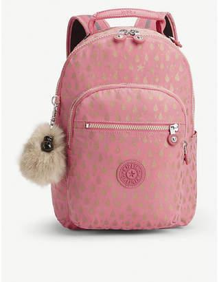 Kipling Seoul Go printed nylon backpack