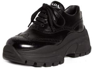 Prada Flatform Oxford Sneaker