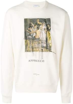 Ih Nom Uh Nit painting print sweatshirt
