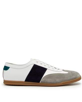 Paul Smith Holzer Low Top Leather Trainers - Mens - White Multi