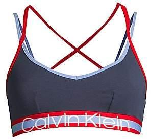 Calvin Klein Women's Retro Unlined Strappy Bralette