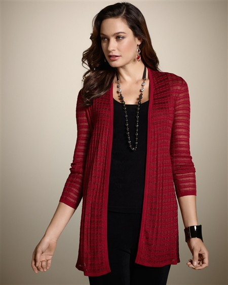 Chico's Travelers Collection Poppy Cardigan
