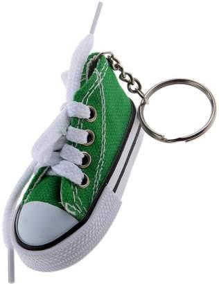 MagiDeal Fashion Canvas Shoe Sneaker Charm Pendant Purse Bag Keyring Key Chain Gift