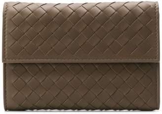 Bottega Veneta mini square wallet