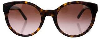 Tory Burch Tortoiseshell Gradient Sunglasses