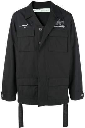 Off-White multi-pocket lightweight jacket