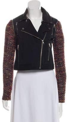 Elizabeth and James Leather Moto Jacket w/ Tags