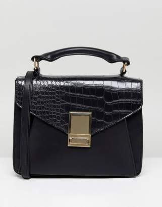 Asos DESIGN slip pocket satchel