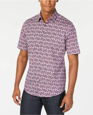 Alfani Men's Floral-Print Shirt