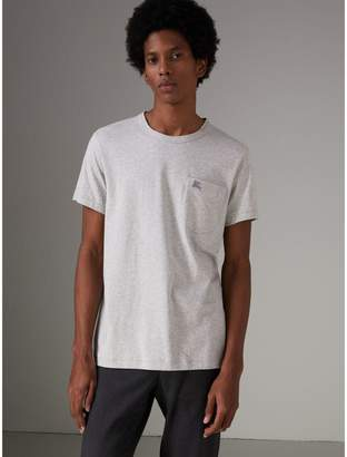 Burberry Pocket Detail Cotton Jersey T-shirt