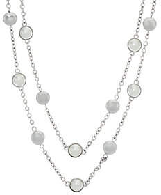 """Isaac Mizrahi Live! 32"""" Double Strand StationNecklace"""