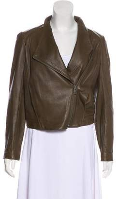Helmut Lang HELMUT Leather Zip Jacket