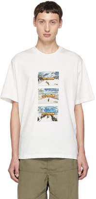 Sunnei White Fast Fashion T-Shirt