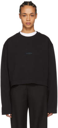 Acne Studios Black Odice Sweater
