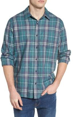 Rails Lennox Slim Fit Plaid Woven Shirt