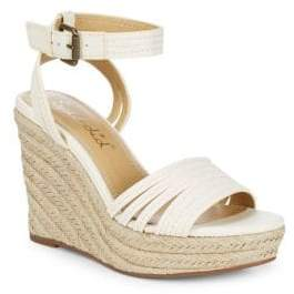 Splendid Flemming Leather Espadrille Wedges