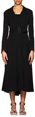 Yohji Yamamoto Women's Worsted Wool Belted Coat