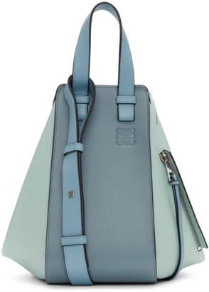 Loewe Blue Small Hammock Bag