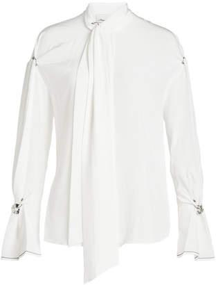 3.1 Phillip Lim Embellished Silk Blouse