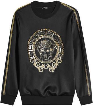 Versace Satin Sweatshirt