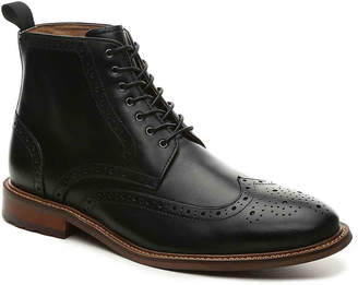 Aston Grey Erane Wingtip Boot - Men's