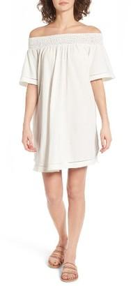 Women's Roxy Moonlight Shadows Off The Shoulder Dress $44.50 thestylecure.com